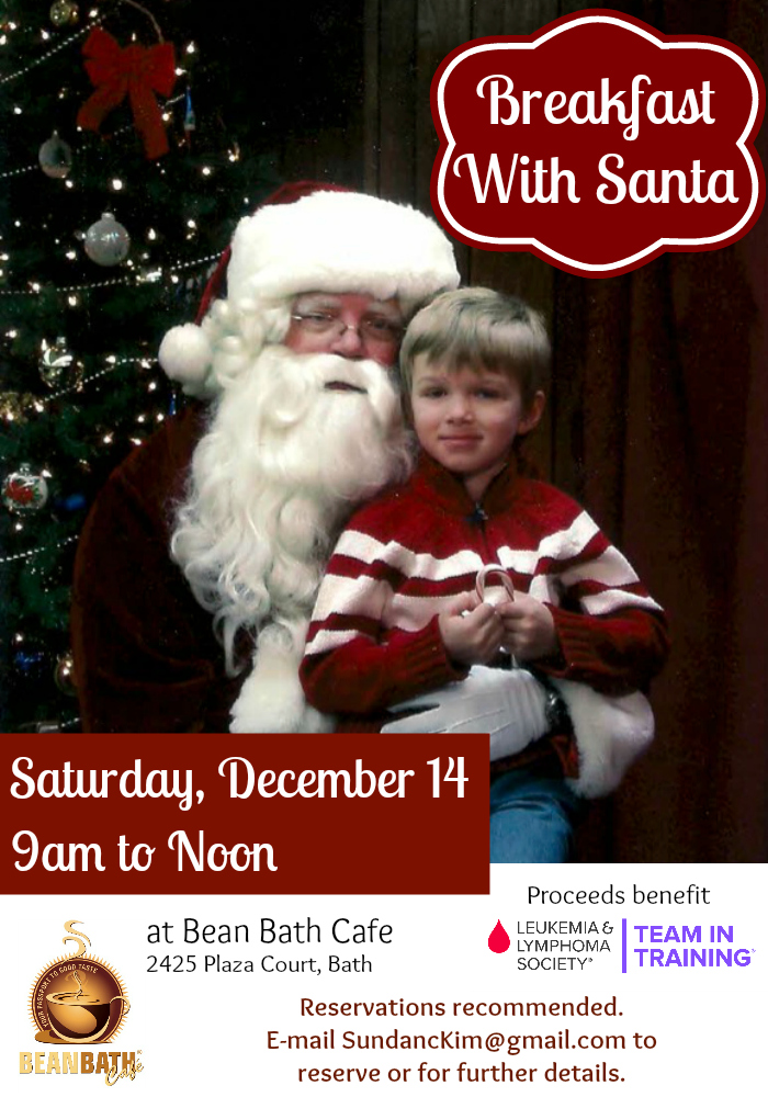 breakfast with Santa Ad