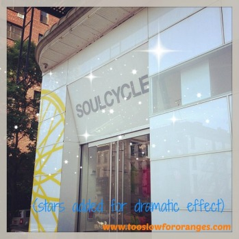 Soul Cycle entrance