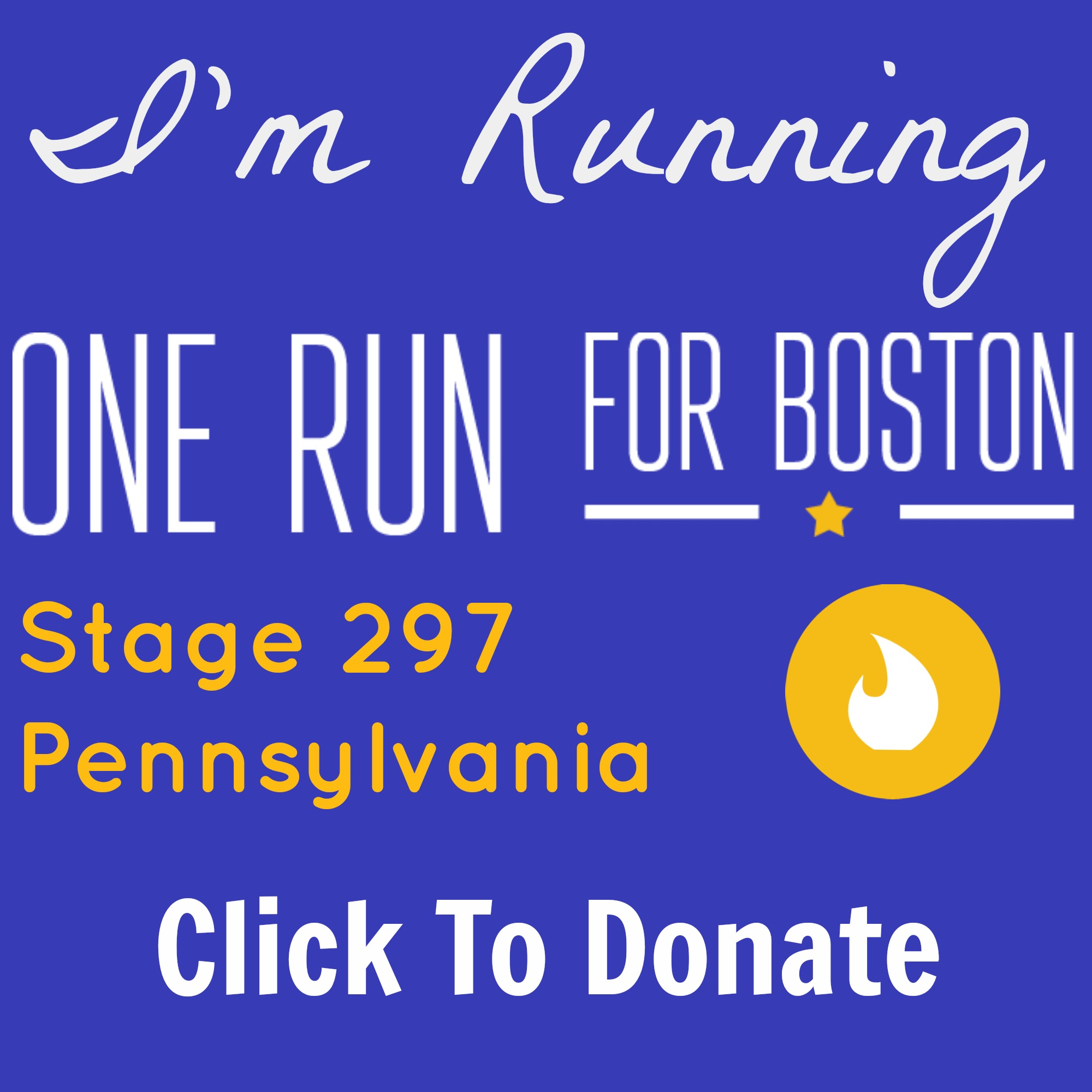 Donate to the One Run!